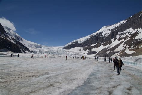 Pictures Of Rocky Mountains Athabasca Glacier In Canada