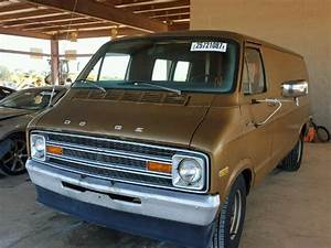 1976 Dodge B200 Van For Sale At Copart Tanner  Al Lot  25721087