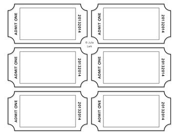 Ticket Of Leave Template by Exit Ticket Template By On A Lark Teachers Pay Teachers