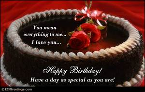 Romantic Birthday Wish Free For Husband Wife ECards 123 Greetings