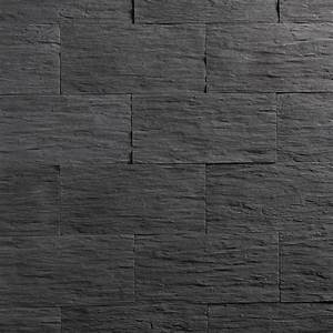 Peinture Beton Exterieur Leroy Merlin : plaquette de parement b ton anthracite angeroise leroy ~ Dailycaller-alerts.com Idées de Décoration