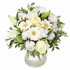 Bouquet Fleur De Coton : bouquet fleur de coton bouquet rond ~ Teatrodelosmanantiales.com Idées de Décoration