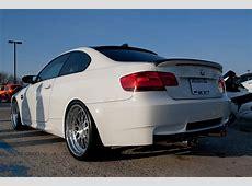 BMW E92 E93 M3 Type I Carbon Fiber Rear Diffuser