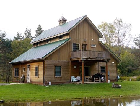 Apartment Barn Plans by The Caretaker Barn With Living Quarters Barn Apartment