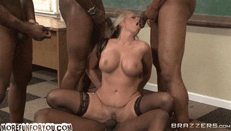 Big Tit Blonde Milf Interracial City School Gangbang