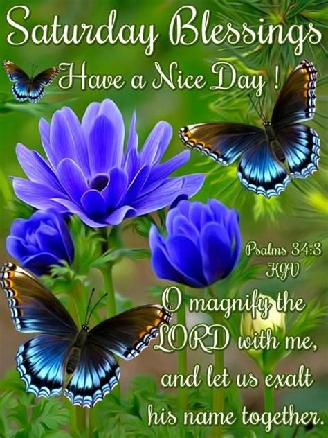 saturday blessings   nice day religious quote