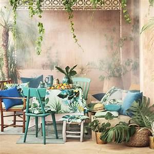 tendance tropicale nos coups de coeur marie claire With salle de bain design avec décoration soirée tropicale