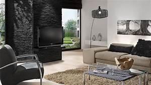3d Wandpaneele Schlafzimmer : kreative wandgestaltung im wohnzimmer 3d wandpaneele ~ Michelbontemps.com Haus und Dekorationen