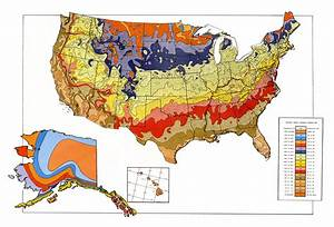 USDA Unveils New Plant Hardiness Zone Map : USDA ARS