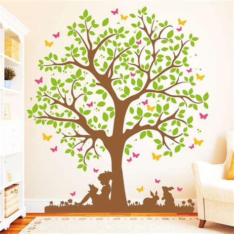 Wandtattoo Kinderzimmer Mädchen Baum wandtattoo kinderzimmer madchen baum