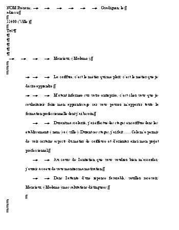 contrat d apprentissage cuisine lettre de motivation pour apprentissage exemple de