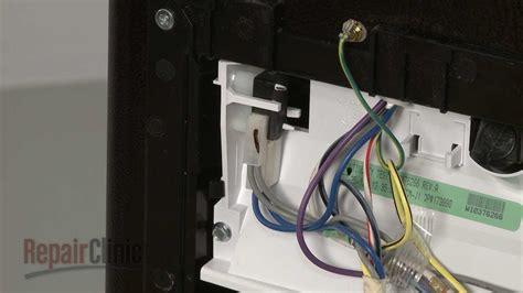 whirlpool refrigerator dispenser switch replacement