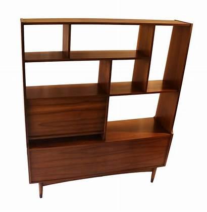 Modern Hutch Mid Century Bookcase Divider Furniture