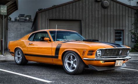 1970 boss mustang 347 awesome american musclecar