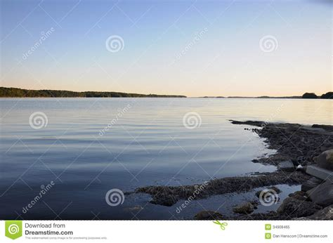 Boat Launch In Casco Bay Royalty Free Stock Photo - Image ...
