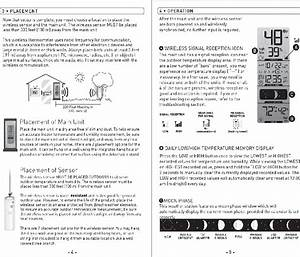 Acurite 00592w2 Thermometer Instruction Manual Pdf View
