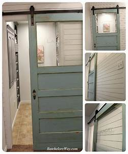 batchelors way laundry room reveal or how to pack lots of With barn door for laundry closet