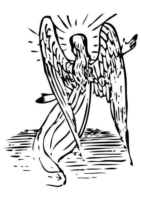 coloriage ange img  images