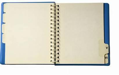 Notebook Clipart Open Transparent Journal Clip Cliparts