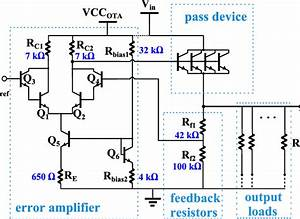 Linear Voltage Regulator Schematic  The Resistor Values