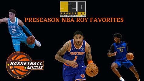 NBA Rookie of the Year Predictions: Obi Tops Sports 2.0's ...