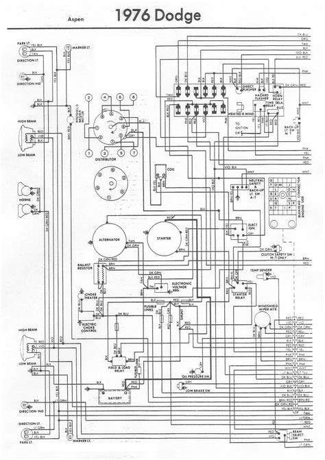 Dodge Aspen Wiring Diagram Under Repository Circuits