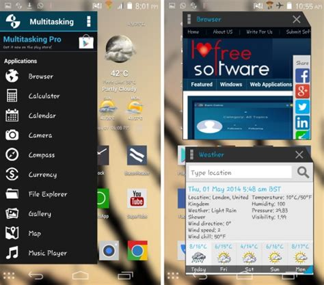 multitasking apps for android get resizable floating apps on android multitasking app