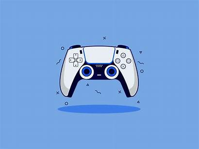Ps5 Playstation Controller Wallpapers Dribbble Minimalist Classic