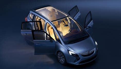 salon de 232 ve 2011 opel zafira tourer concept le auto