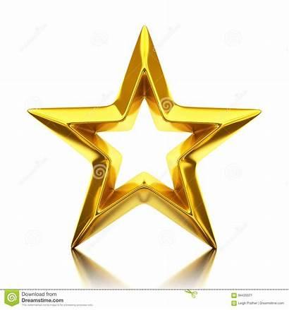 Golden Gouden Ster Shiny Glanzende Brillante Dorata