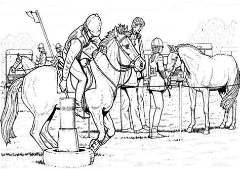 pferde  ausmalbilder malvorlagen