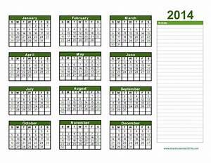 yearly calendar 2014 printable calendar 2014 blank With 4 month calendar template 2014
