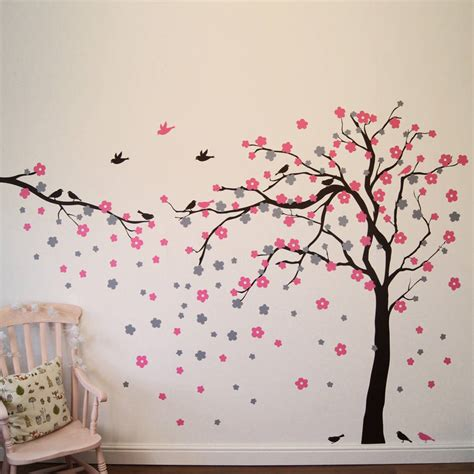 Kitchen Wall Painting Ideas - floral blossom tree wall stickers by parkins interiors notonthehighstreet com