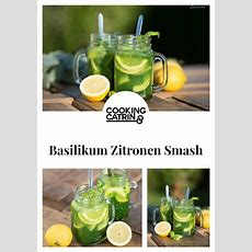 Basillikum Zitronen Smash  Rezept Getränke