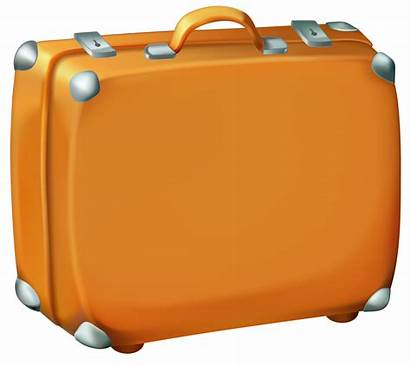 Suitcase Luggage Clipart Clip Travel Cliparts Suitcases