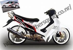 Motor Sport  Gambar Modif Suzuki Smash 110 Keren Terbaru 2014