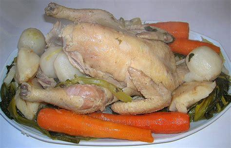 recette poule au pot a la creme la recette de la poule au pot