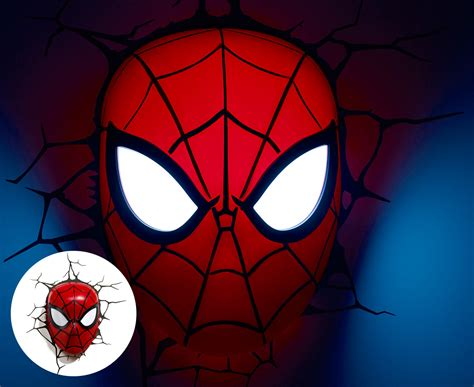 3d marvel mask wall light ebay