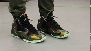 "Lebron XI ""Kings Pride"" On-feet Video at Exclucity - YouTube"