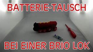 Brio Eisenbahn Schienen : batterie tausch bei einer lok der brio eisenbahn youtube ~ Orissabook.com Haus und Dekorationen