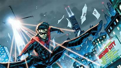 Nightwing Dc Comics Comic Robin Chicago Dick