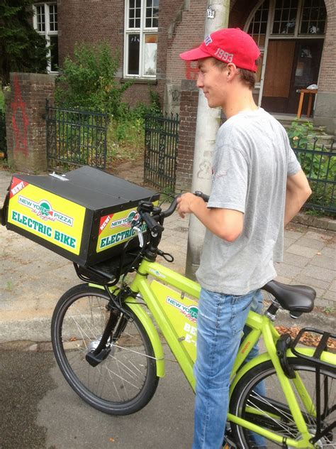 international cargo bike festival pizza delivery  electric cargo bike