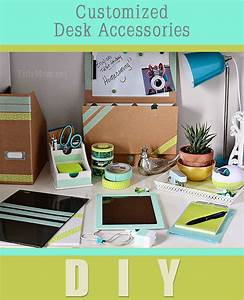 Customized iPad and desk accessories