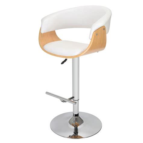 fauteuil de cuisine fauteuil de bar oslo blanc 34 2m 004w achat vente tabouret de bar sur maginea com
