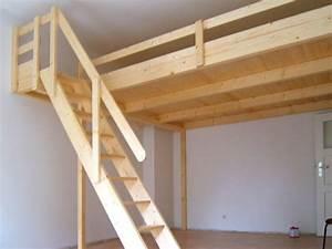 Holz Für Hochbett : bild 17 hochbett hochetage mit treppe bett ~ Michelbontemps.com Haus und Dekorationen