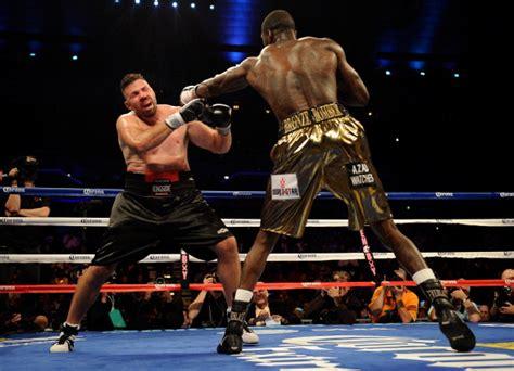 murderous punching deontay wilder boxings  mike