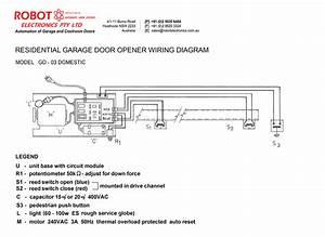 Residential Garage Door Opener Model Gd