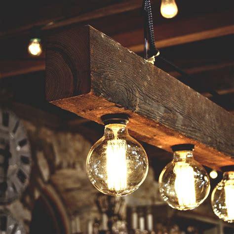 wood beam chandelier diys id lights