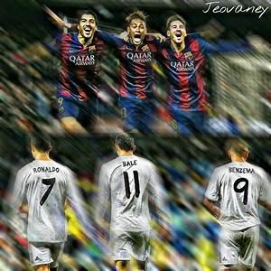 Suarez Neymar Messi x Ronaldo Bale Benzema by ...