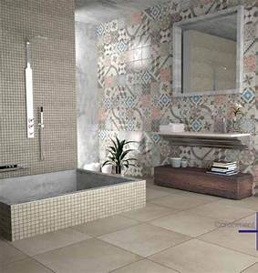 robinet mural salle de bain leroy merlin carrelage With carrelage imitation carreau de ciment leroy merlin